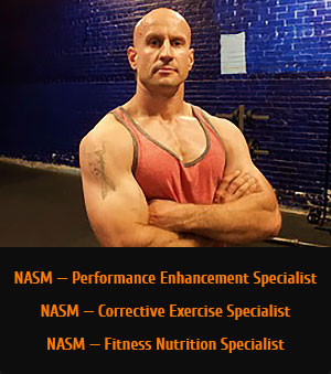 NASM — Performance Enhancement Specialist NASM — Corrective Exercise Specialist NASM — Fitness Nutrition Specialist
